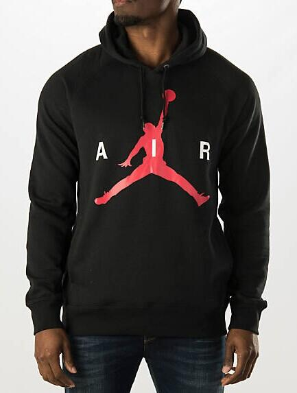 Men's Air Jordan Air Pullover Hoodie @ FinishLine.com