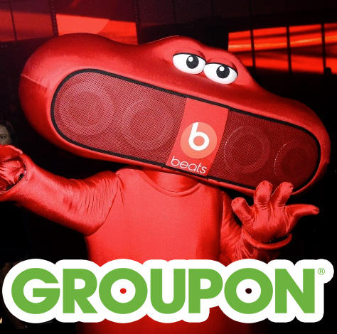Additional 15% OFF Beats by Dre Headphones Deals @Groupon