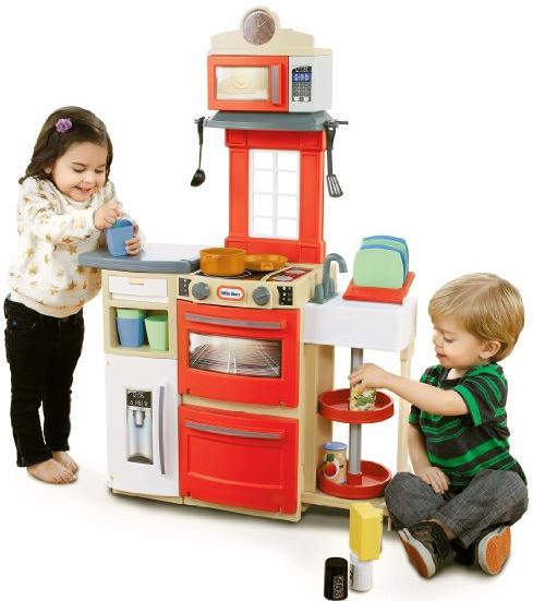 Little Tikes Cook 'n Store Kitchen Playset - Red @ Amazon