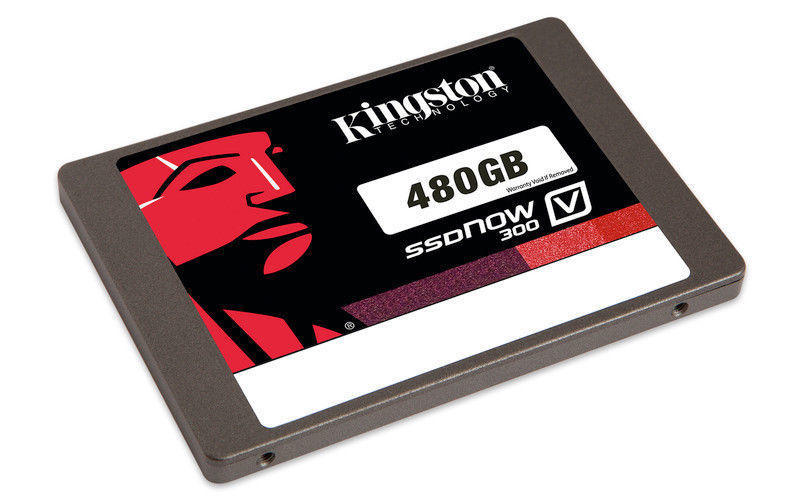 $104.99 Kingston SSDNow V300 480GB Internal Serial ATA III Solid State Drive