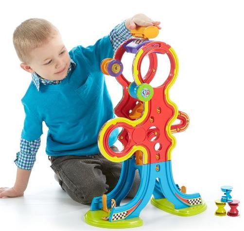 Fisher-Price Spinnyos Racin' Chasin' Super Slide @ Amazon