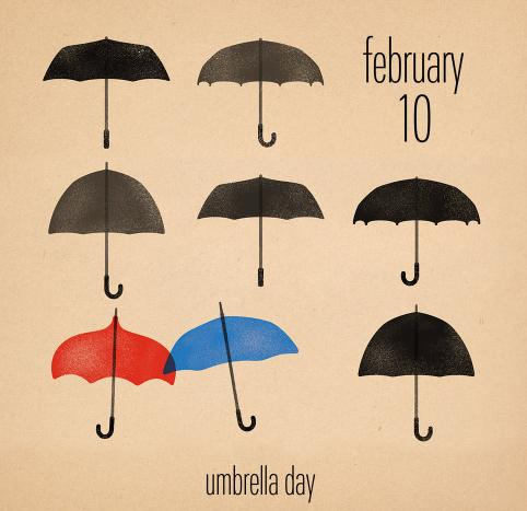 NATIONAL UMBRELLA DAY Umbrella Collection @ Amazon
