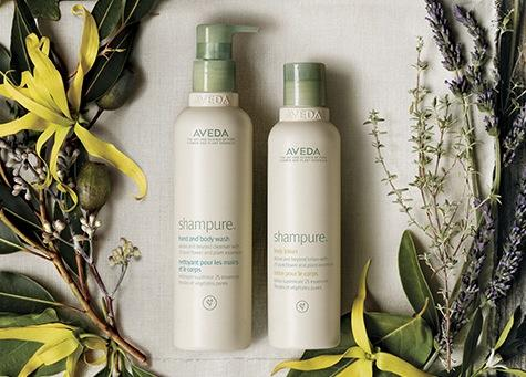 Pick 4 Sample + Free Travel Size Body MoisturizerWith any $50 Order @ Aveda
