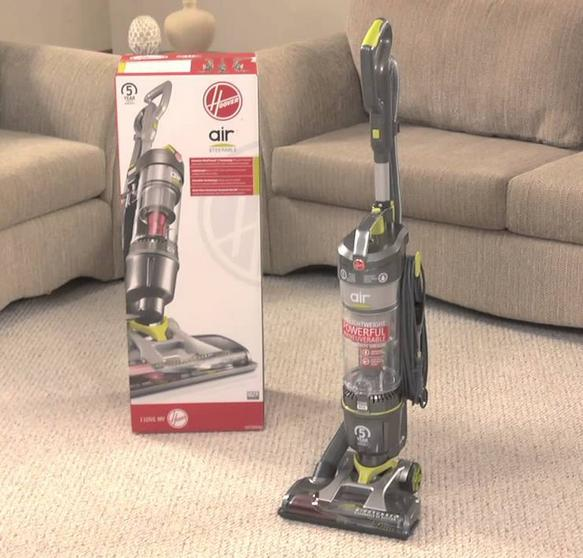 $48 Hoover Air Steerable Bagless Upright Vacuum UH72400 (Reconditioned)
