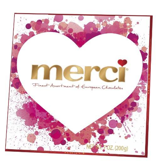 Merci Assorted Valentine's Day Chocolates, 7 Ounce