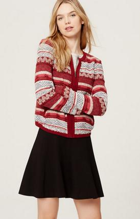 Extra 60% Off Sale Sweaters @ Loft