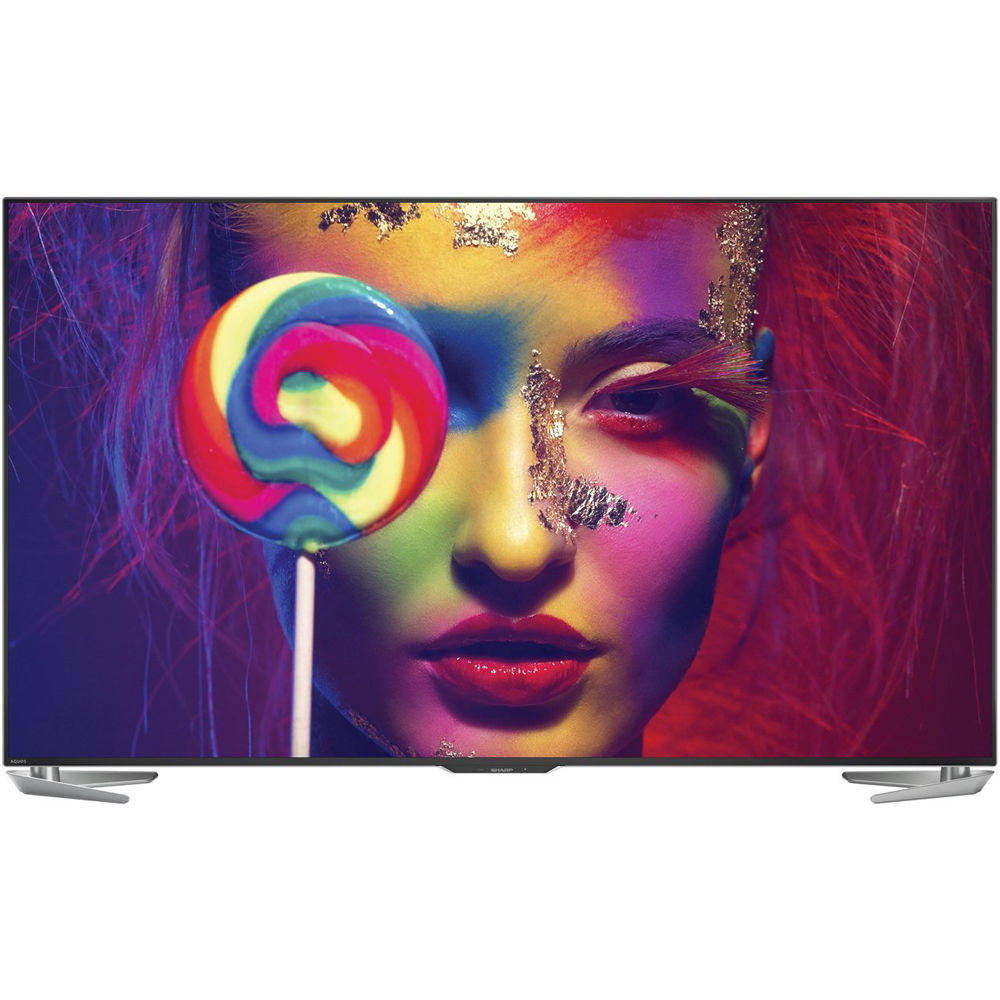 Sharp LC-70UH30U 70-Inch Aquos 4K Ultra HD Smart Android LED TV
