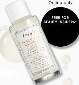 Free Fresh Black Tea Age-Delay Instant Infusion Treatment Toner Deluxe Sample with $25 Purchase @ Sephora