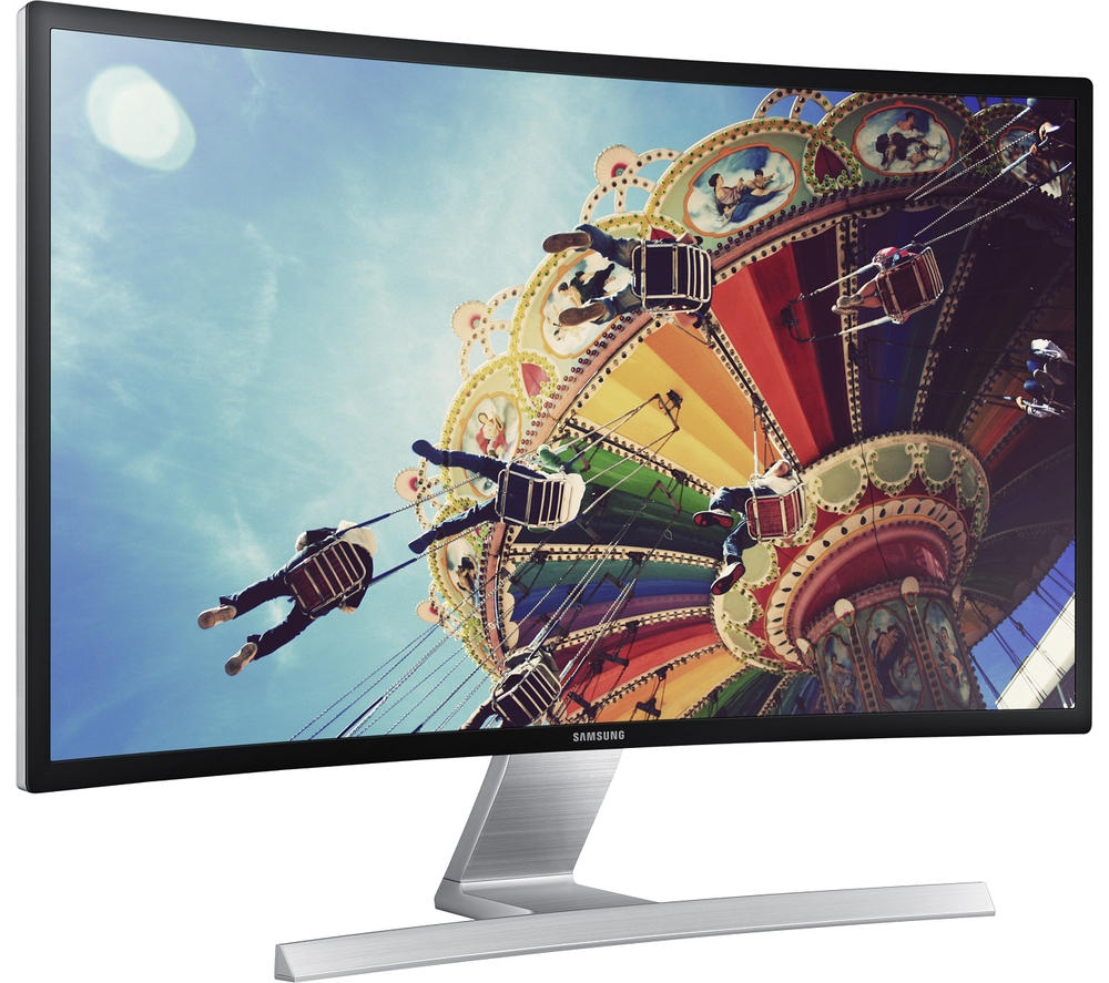 "$399.99 SAMSUNG S32E590C 31.5"" Curved 4ms (GTG) Widescreen Monitor"