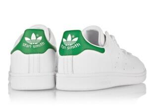 ADIDAS ORIGINALS Stan Smith leather sneakers @ THE OUTNET