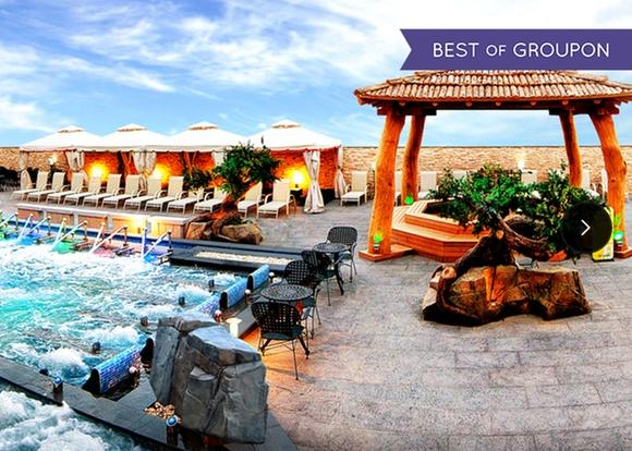 $11.9 Admission to Spa Castle Texas, Two Options Available