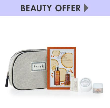 NM Exclusive tote + beauty samples with Fresh purchase of $125 or more @ Neiman Marcus