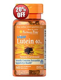 5 for $50.98 Lutein 20 mg with Zeaxanthin