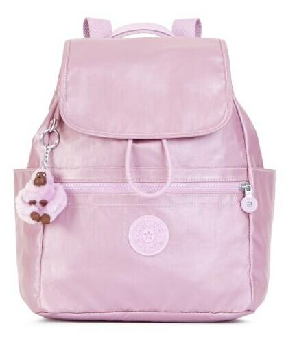 ELLARIA METALLIC SMALL DRAWSTRING BACKPACK @ Kipling USA