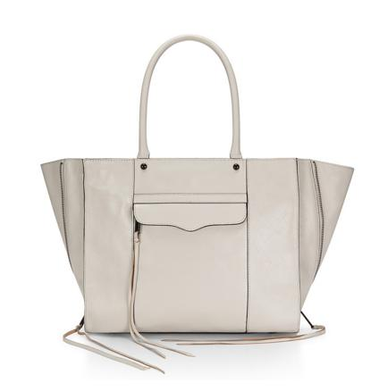 $121.26 Rebecca Minkoff Side-Zip Medium Mab Tote Bag