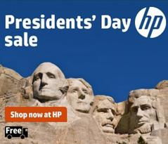 Save Up To 50%! HP Presidents' Day Sale