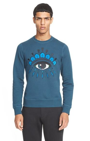 KENZO 'Eye' Embroidered Sweatshirt @ Nordstrom