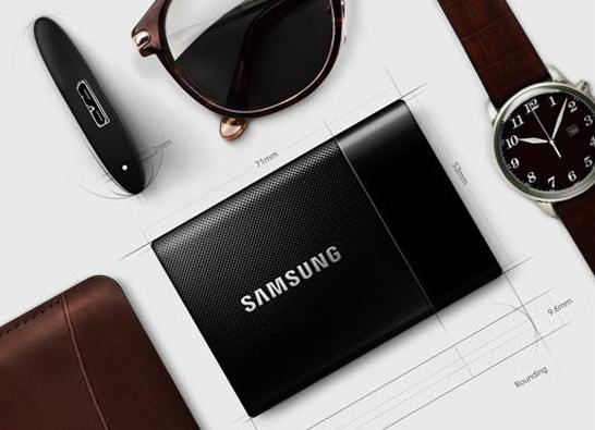$347.99 Samsung T1 Portable 1 TB USB 3.0 External SSD (MU-PS1T0B/AM)