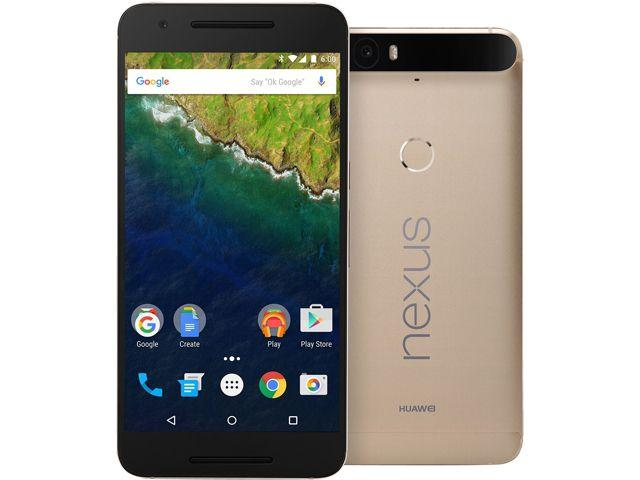 As low as $449 Nexus 6P Matte Gold + $25 Newegg Gift Card