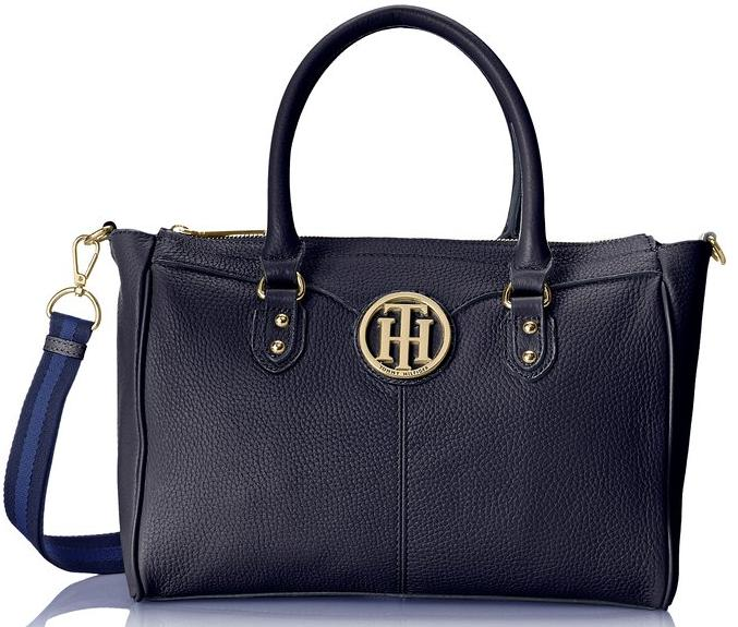 Tommy Hilfiger Maggie Pebble Large Shopper Shoulder Bag @ Amazon