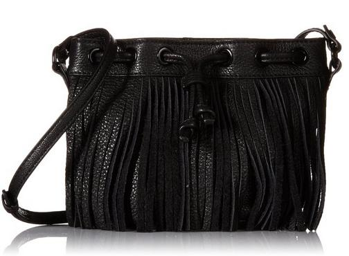 Rebecca Minkoff Fringe Micro Lexi Bucket Cross-Body Bag
