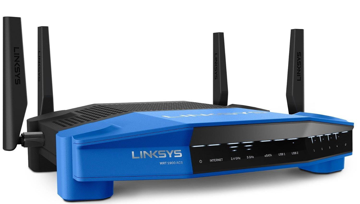 Linksys WRT1900ACS Dual-Band Smart Wi-Fi Gigabit Router