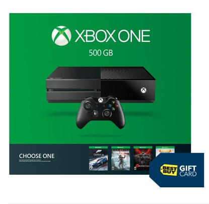 Free $100 Gift Card with Any Xbox One Console @ Best Buy