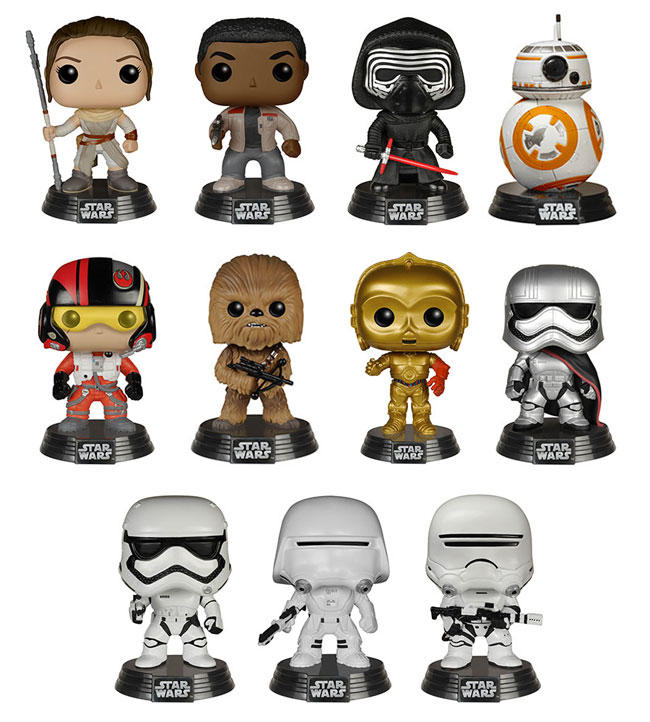 Buy 1 Get 1 Free Star Wars Funko Pop! Figure @ Best Buy