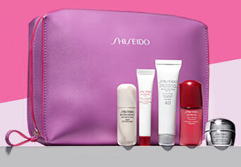 Free 6-pc Gift Set with Your Purchase of Any 2 Shiseido Skincare Items @ Nordstrom