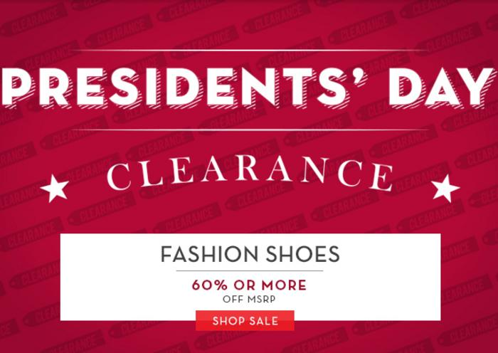 Up to 70% Off President Day Sale @ 6PM.com
