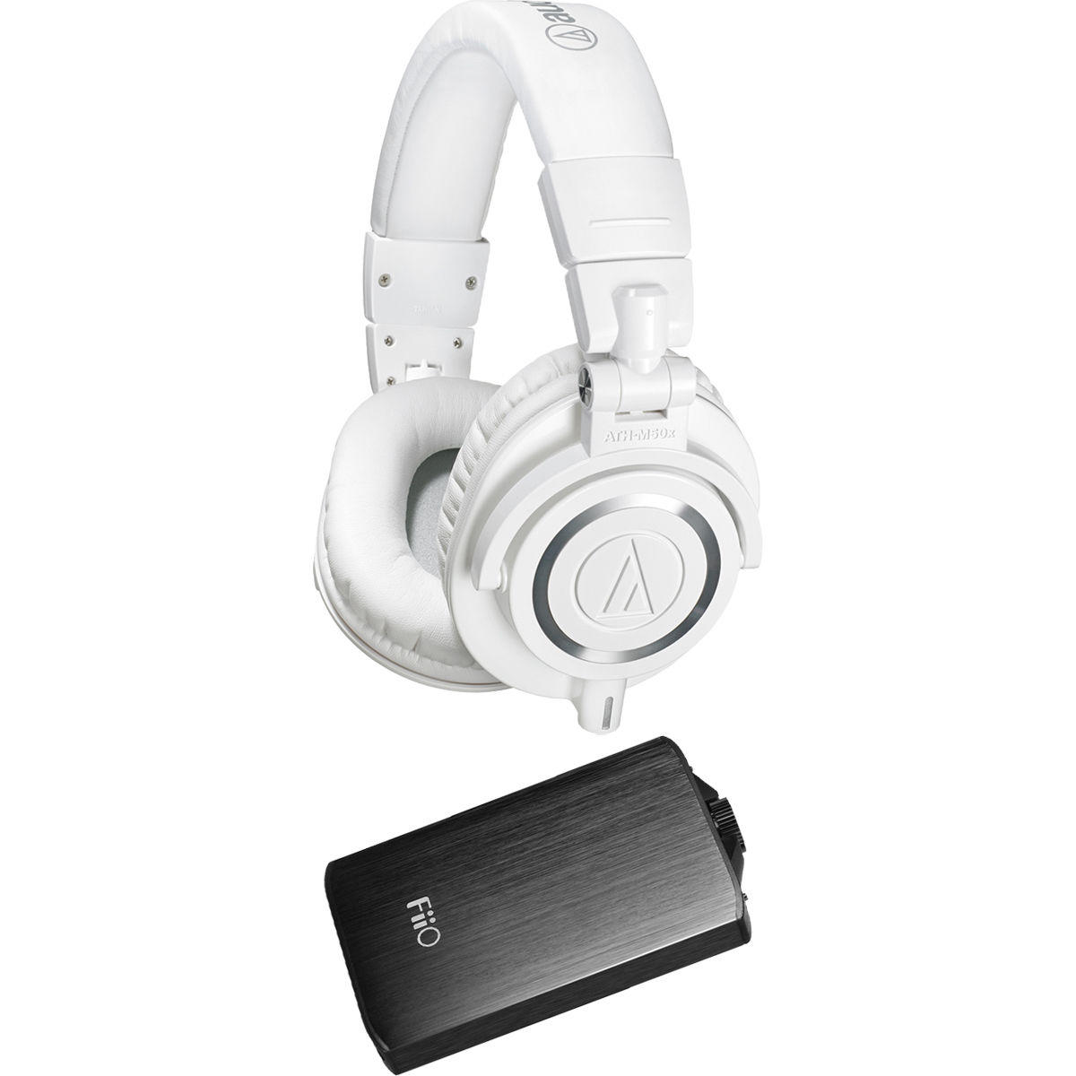 $139.99 Audio-Technica ATH-M50X & Fiio A3 Amp Bundle