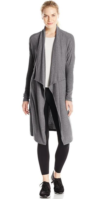 Calvin Klein Performance Women's Brushed Jersey Duster @ Amazon