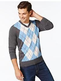 $10 off $25 Tommy Hilfiger Men's Shirts Sweaters and more @ macys.com