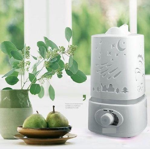 $24.18 Signstek 1500ML 1.5L Ultrasonic Air Humidifier LED Color Changing Aroma Oil Diffuser (Dragonfly)