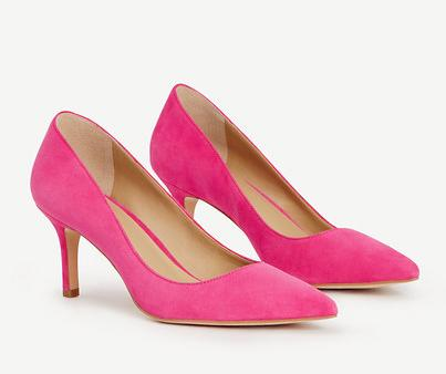 Up to 50% Off Eryn Suede Kitten Heels @ Ann Taylor