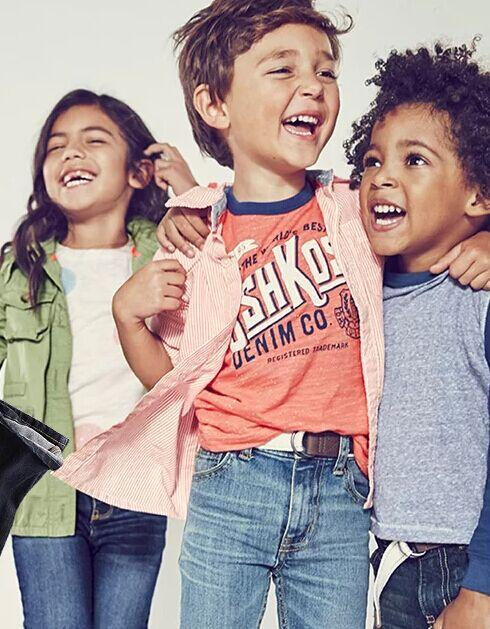 $8 and Up Girls & Boys B'Gosh Blue Jeans @ OshKosh BGosh