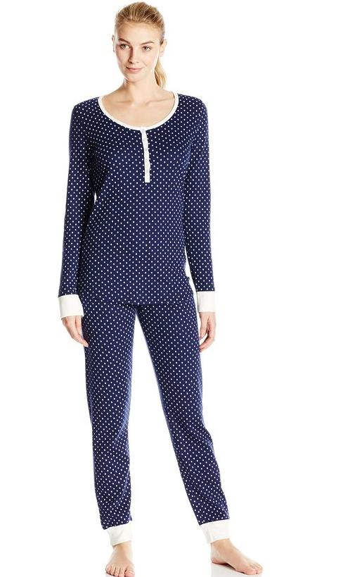Tommy Hilfiger Women's Thermal Pajamas @ Amazon