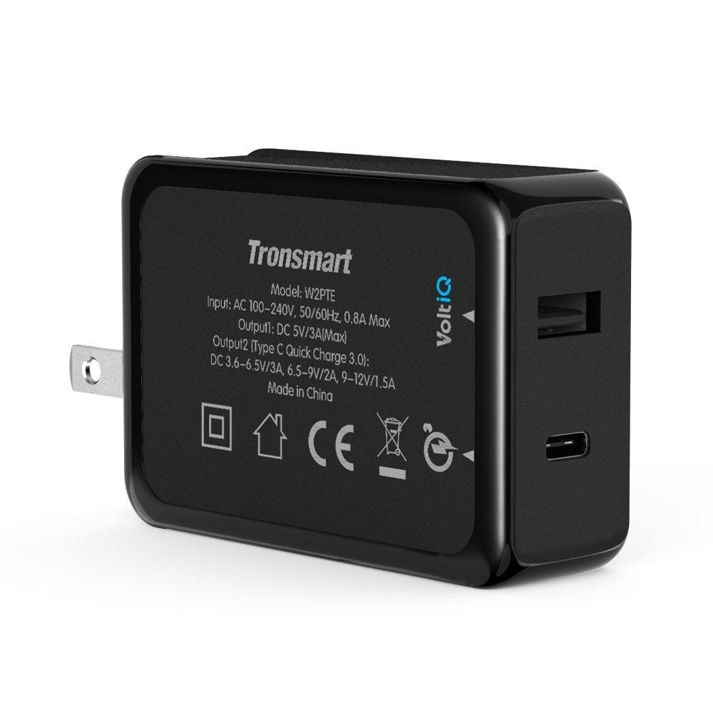Tronsmart 33W Dual USB Charger with Quick Charge 3.0