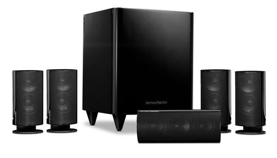 $219.99 Harman Kardon HKTS 20 5.1-channel, 120 Watt Surround-Sound System