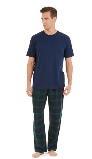 Nautica Pajama Pant and T-Shirt Set