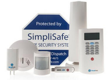 SimpliSafe2 Wireless Home Security System 8-Piece Plus Premium Package