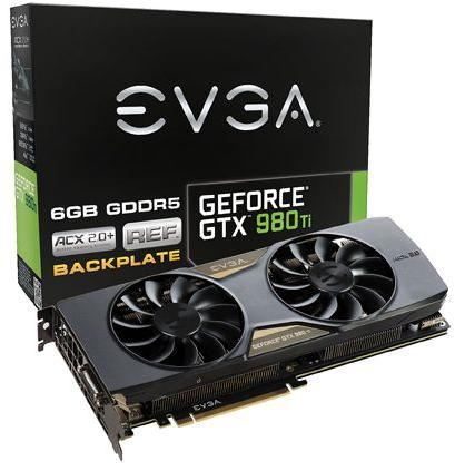 EVGA GeForce GTX 980 Ti 6GB 384-Bit GDDR5 GAMING Graphics Card