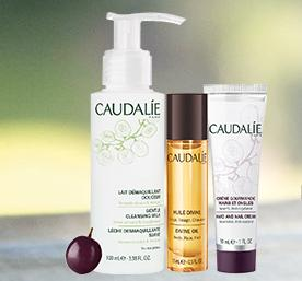 Complimentary 3-pc Grape-Seed Oil Gift With $75 Purchase @ Caudalie