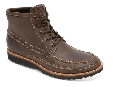 Rockport Union Street Hi-Top Boots