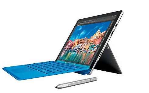 Microsoft Surface Pro 4, Intel® Core™ i5, 8GB RAM, 256GB, 12.3
