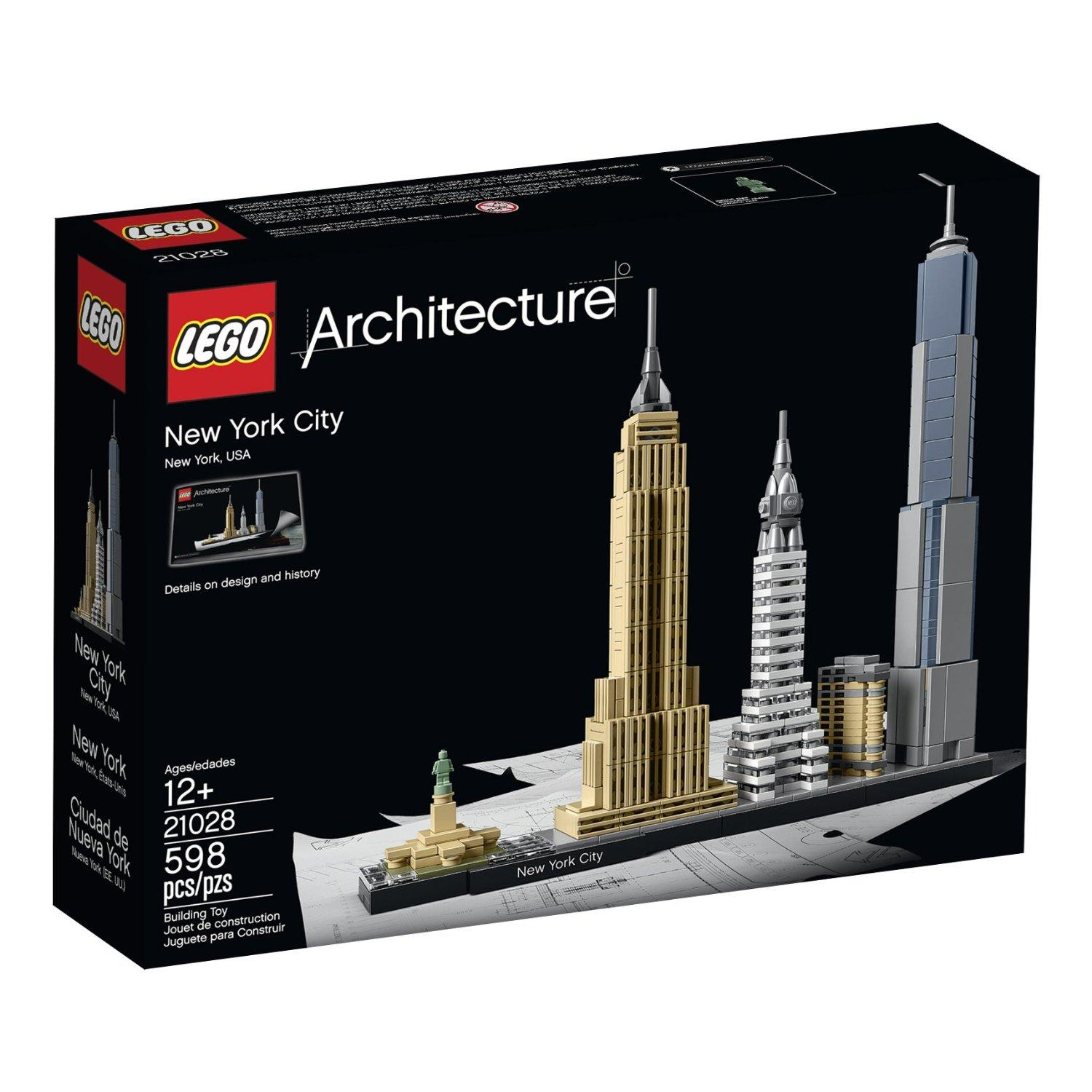 $49 LEGO Architecture New York City 21028