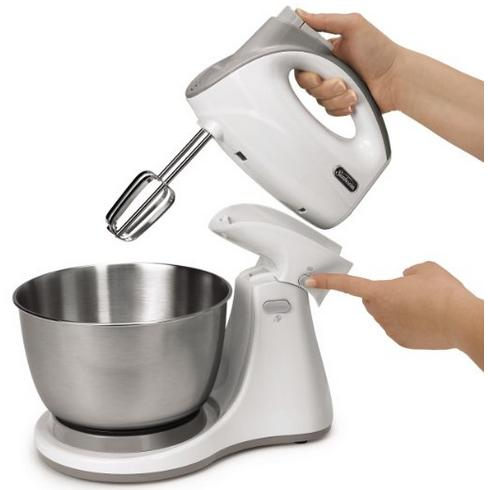 Sunbeam FPSBHS0301 250-Watt 5-Speed Hand and Stand Mixer Combo