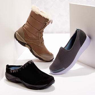 Up to 77% Off Easy Spirit Women's Boots @ 6PM.com