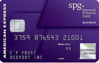 Get 25,000 bonus Starpoints® after Required Spend Starwood Preferred Guest® Business Credit Card from American Express