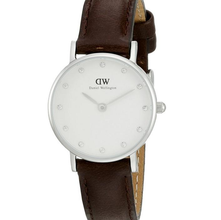 Daniel Wellington Women's 0923DW Classy Bristol Analog Display Quartz Brown Watch